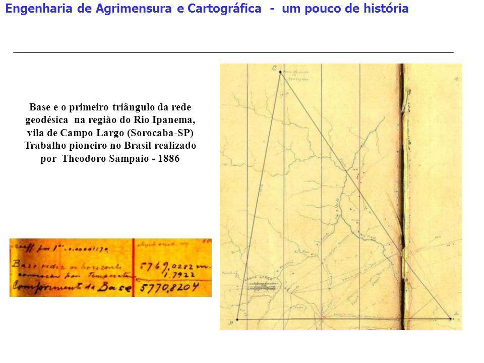 Trabalho pioneiro no Brasil realizado por Theodoro Sampaio - 1886