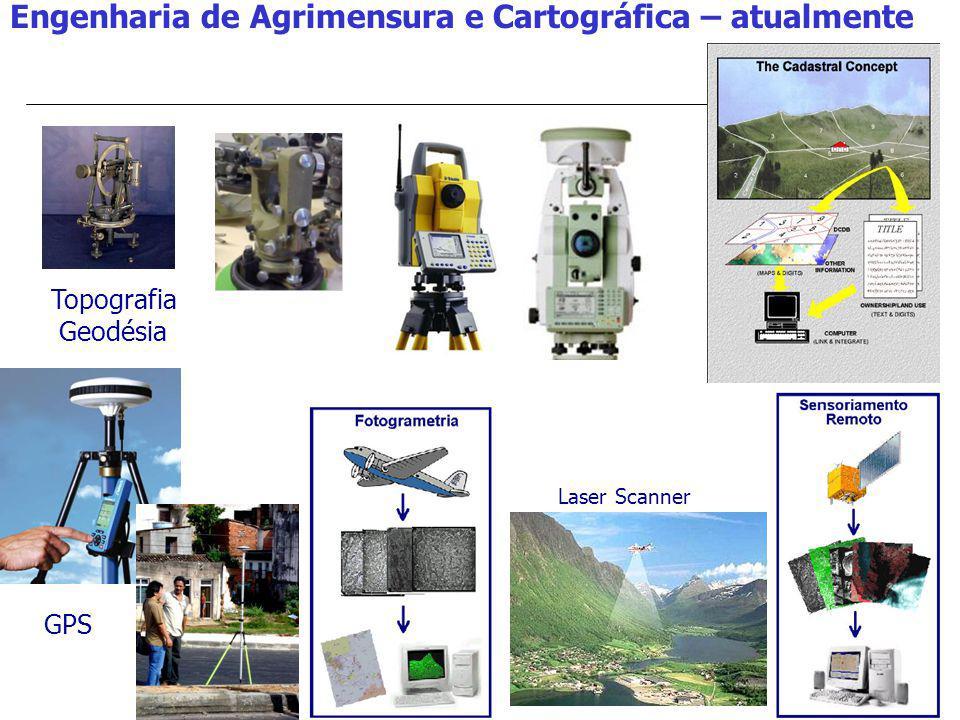 Engenharia de Agrimensura e Cartográfica – atualmente