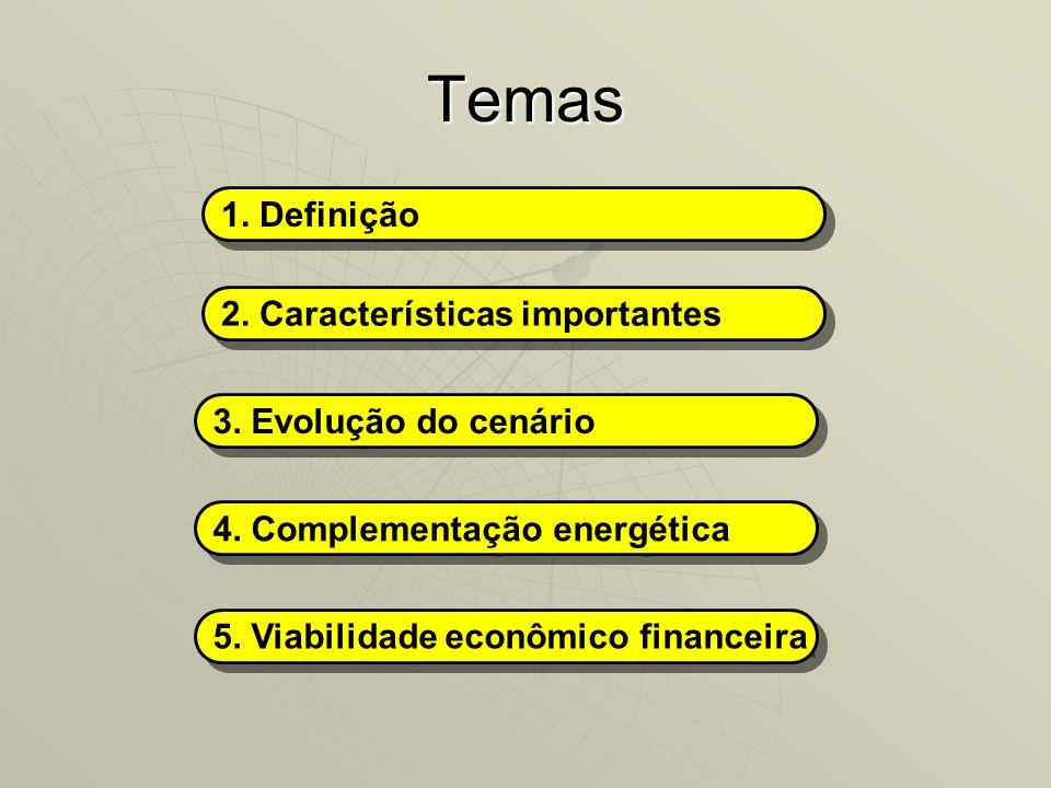 Temas 1. Definição 2. Características importantes