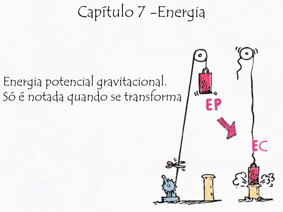 Capítulo 7 -Energia Energia potencial gravitacional.