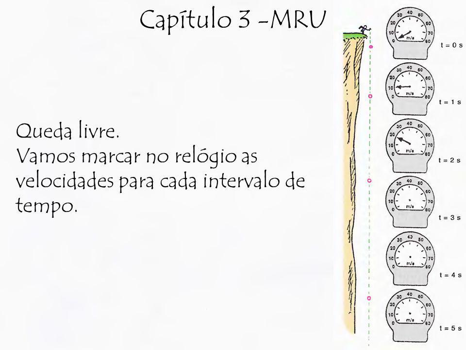Capítulo 3 -MRU Queda livre.