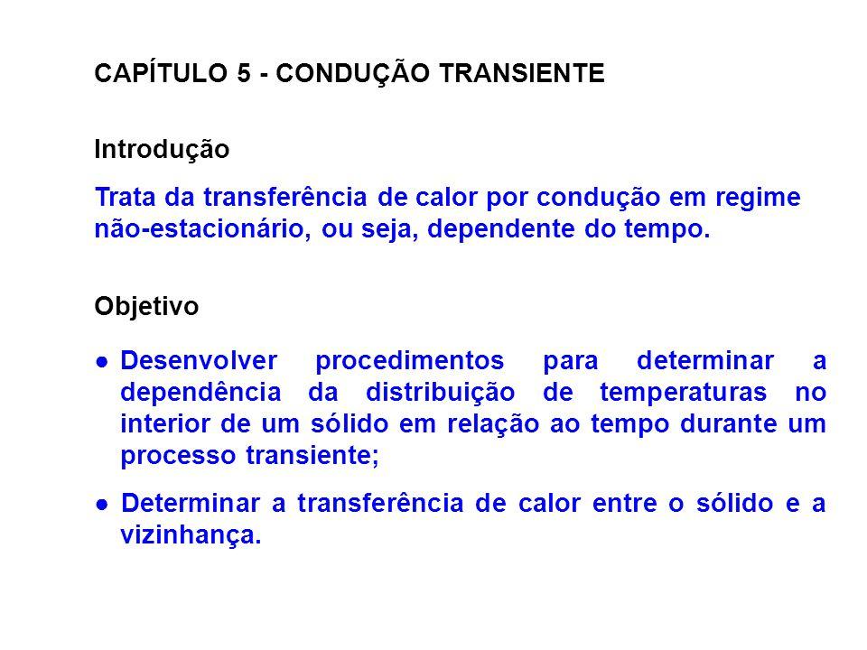 CAPÍTULO 5 - CONDUÇÃO TRANSIENTE
