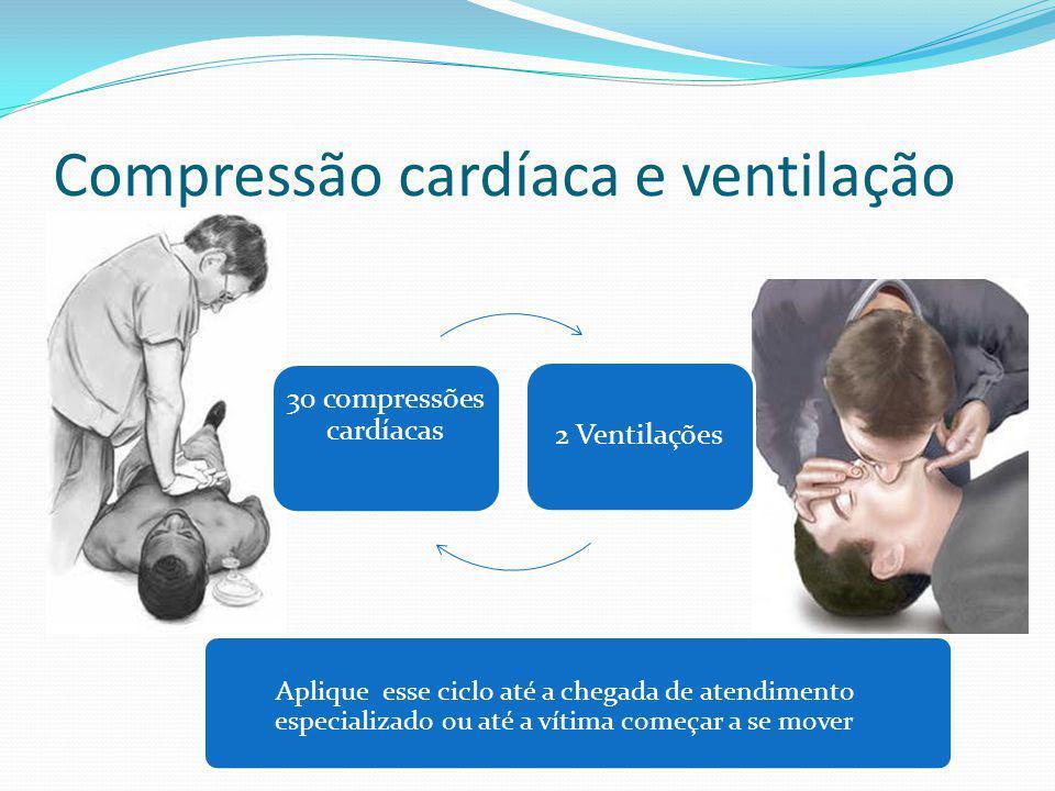 Compressão cardíaca e ventilação
