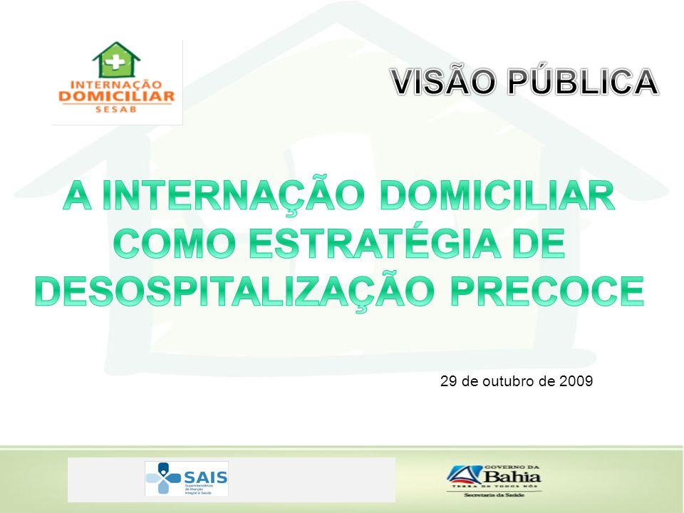 A INTERNAÇÃO DOMICILIAR DESOSPITALIZAÇÃO PRECOCE