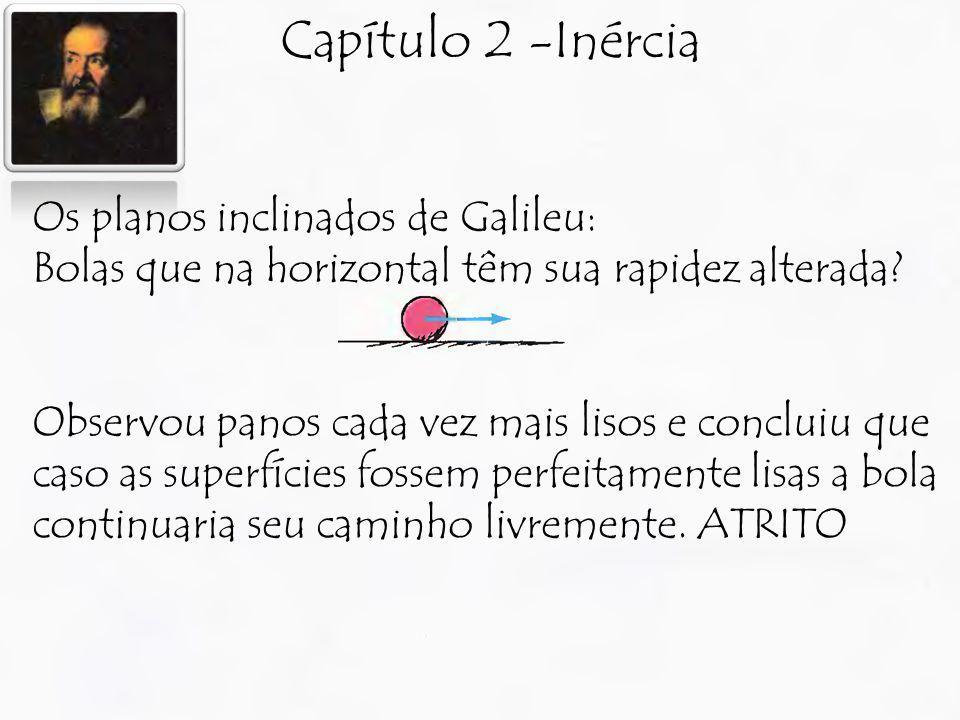 Capítulo 2 -Inércia Os planos inclinados de Galileu: