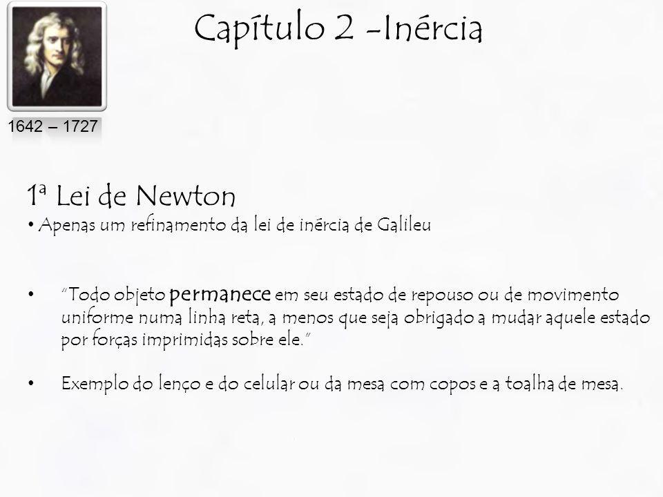 Capítulo 2 -Inércia 1ª Lei de Newton