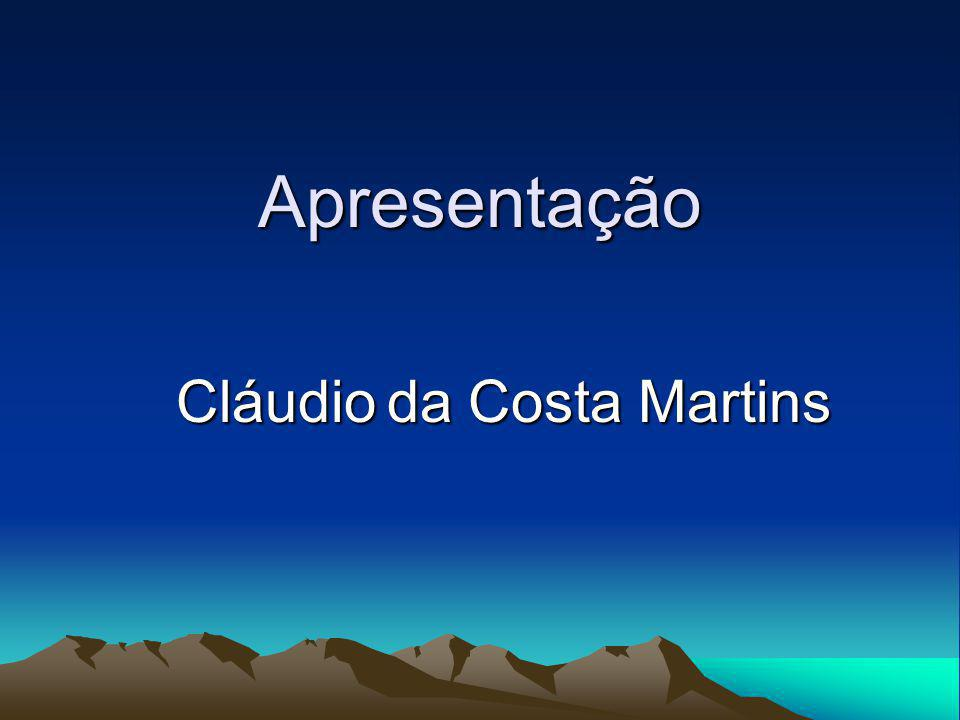 Cláudio da Costa Martins