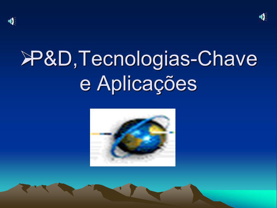 P&D,Tecnologias-Chave e Aplicações