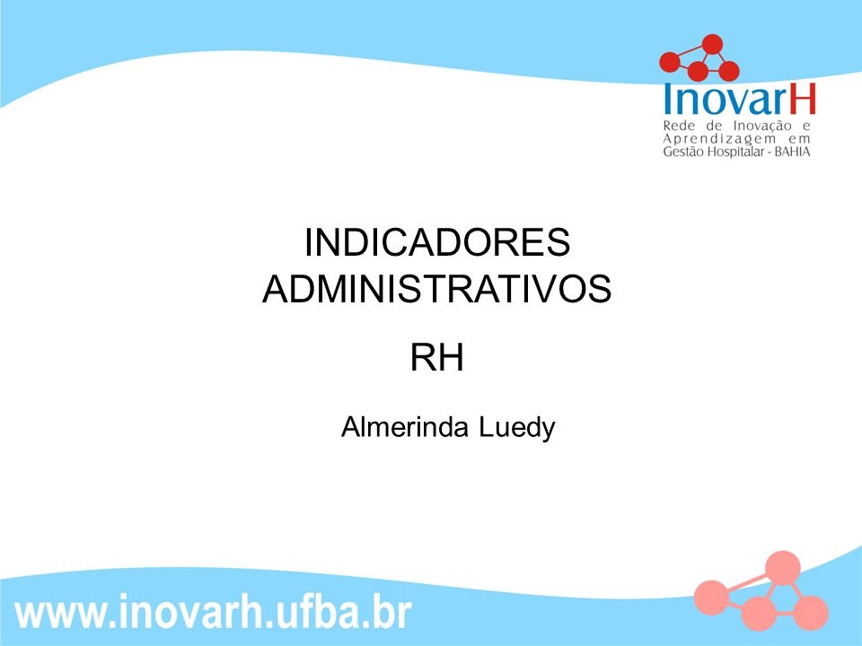 INDICADORES ADMINISTRATIVOS