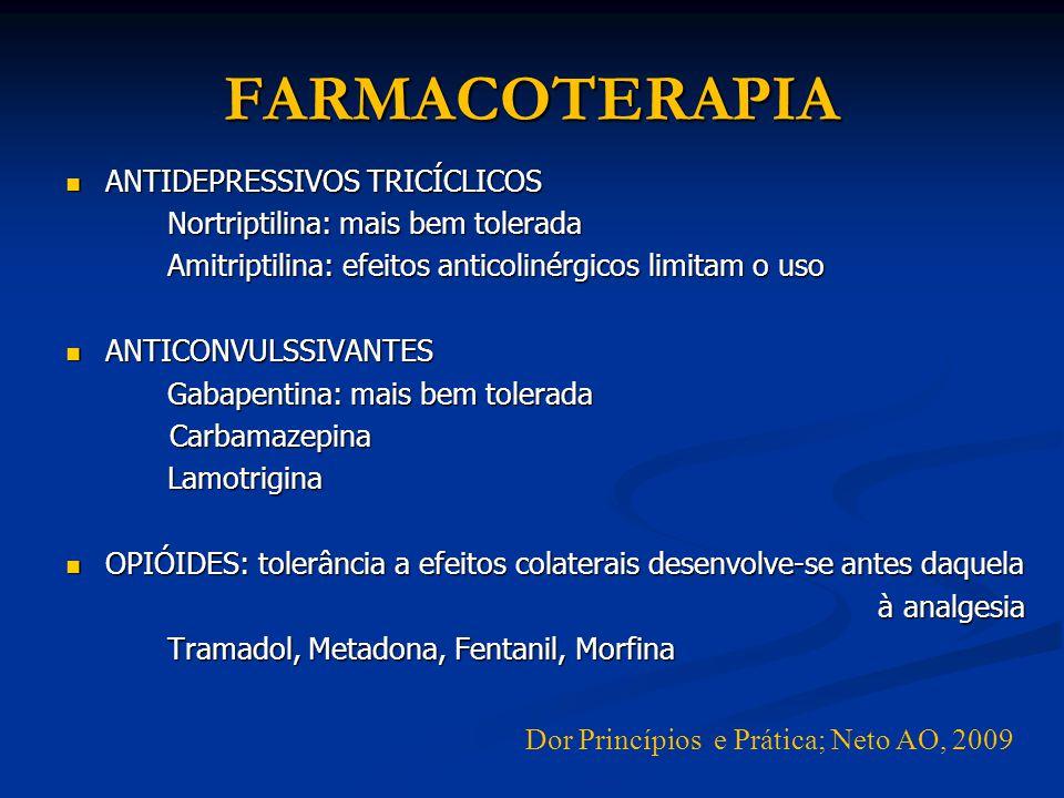 FARMACOTERAPIA ANTIDEPRESSIVOS TRICÍCLICOS