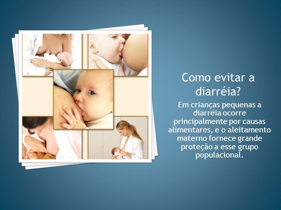 Como evitar a diarréia