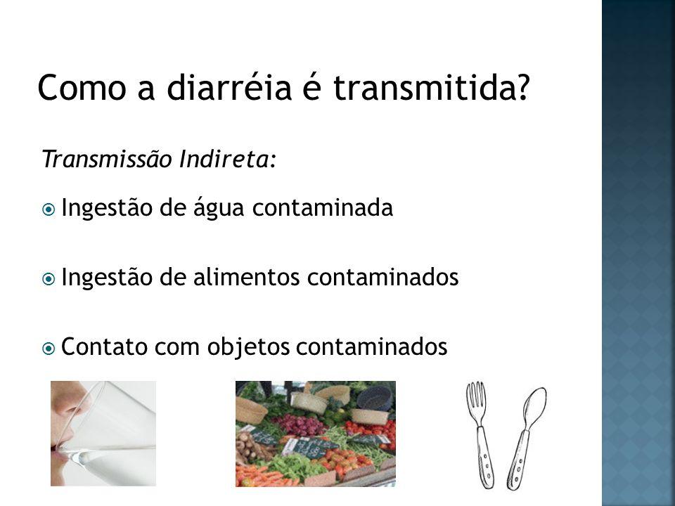Como a diarréia é transmitida