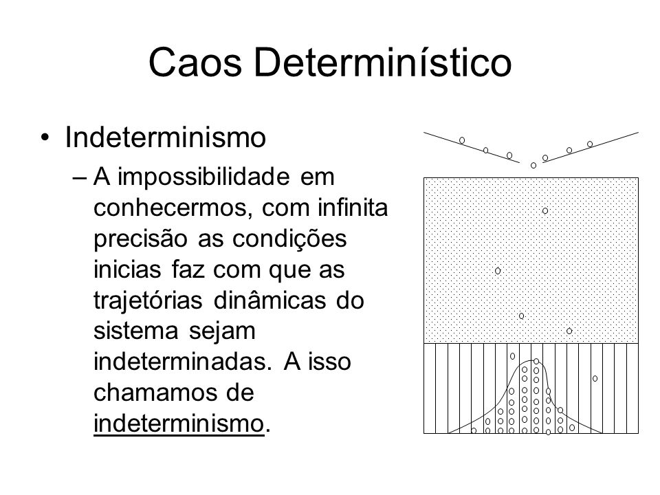 Caos Determinístico Indeterminismo