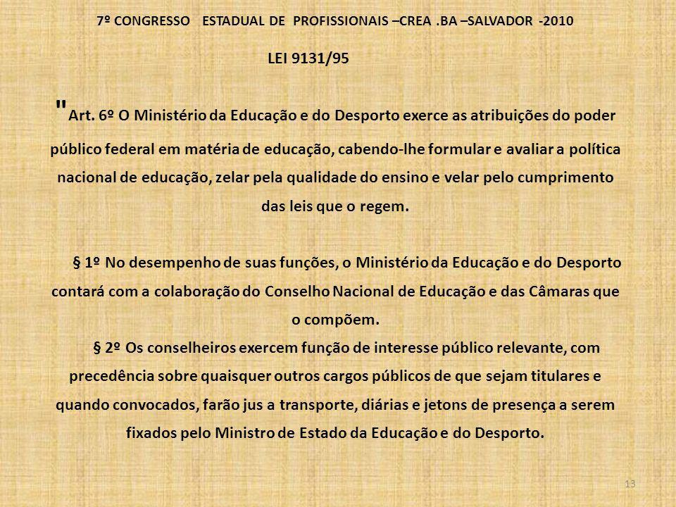 7º CONGRESSO ESTADUAL DE PROFISSIONAIS –CREA