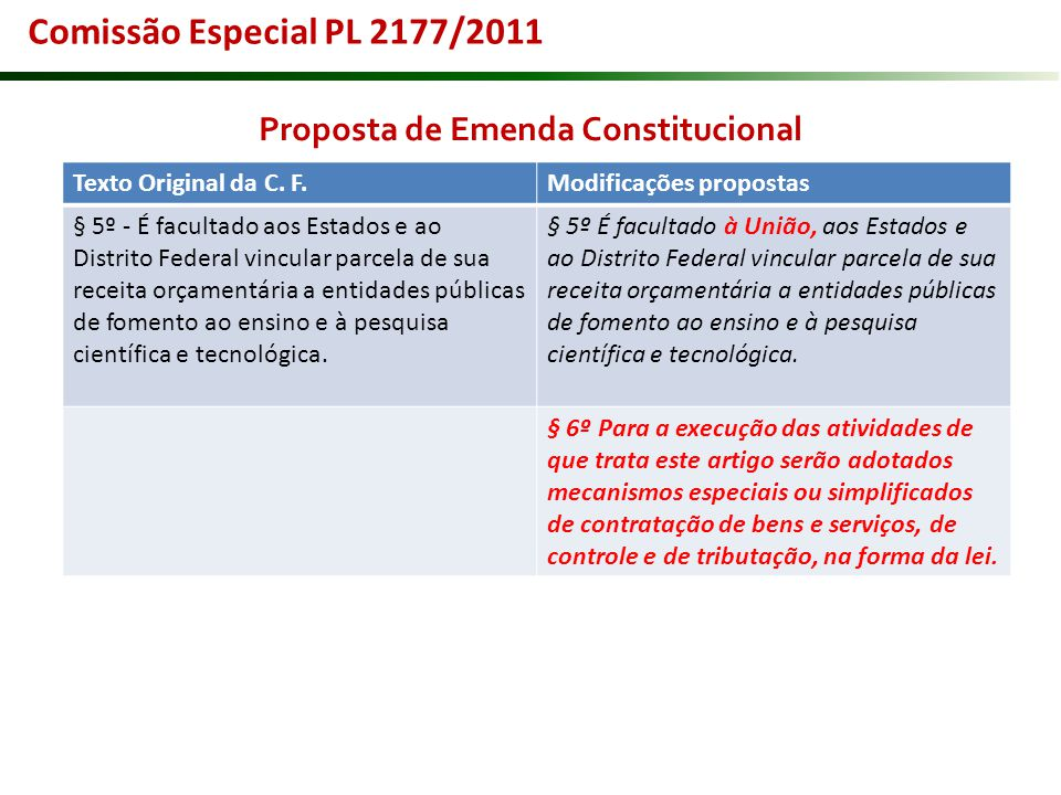 Proposta de Emenda Constitucional