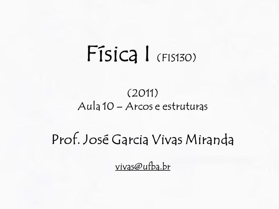 Aula 10 – Arcos e estruturas Prof. José Garcia Vivas Miranda