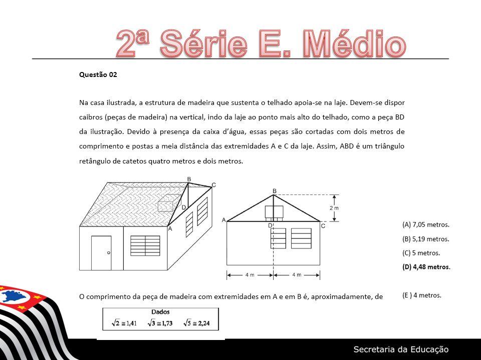 2ª Série E. Médio