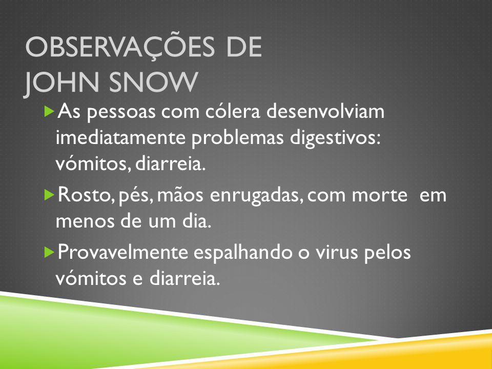 Observações de John Snow