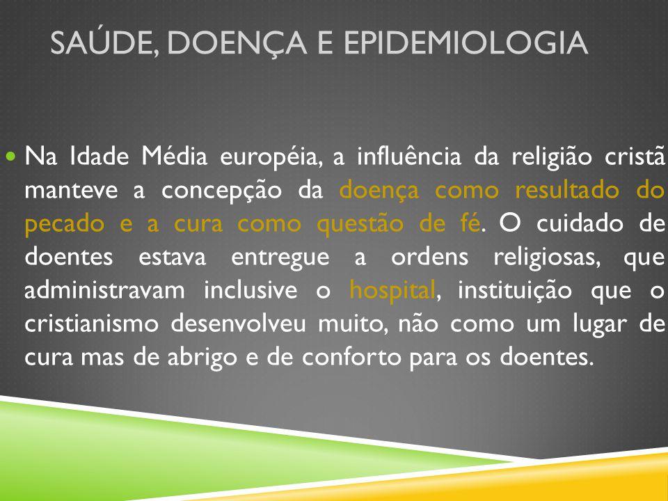 Saúde, doença e epidemiologia