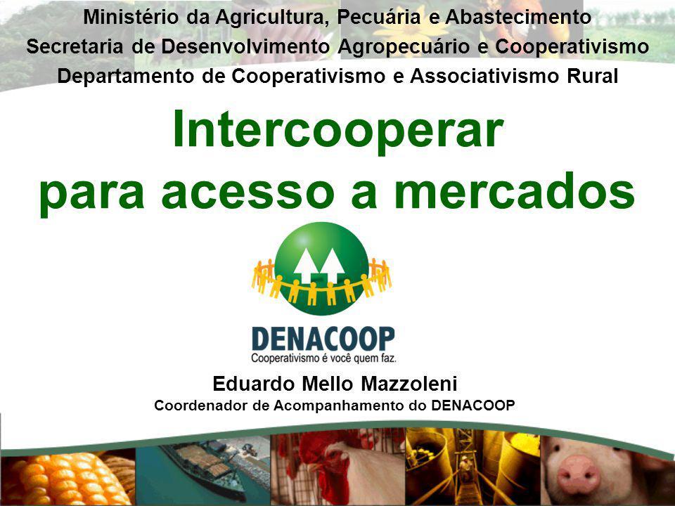 Intercooperar para acesso a mercados