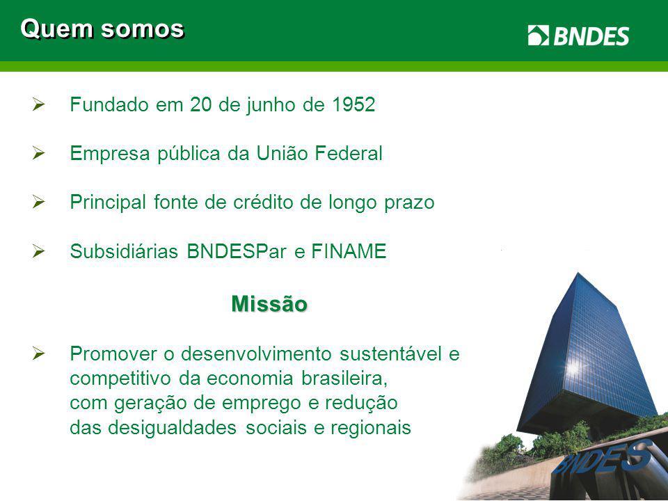 Quem somos Missão Fundado em 20 de junho de 1952