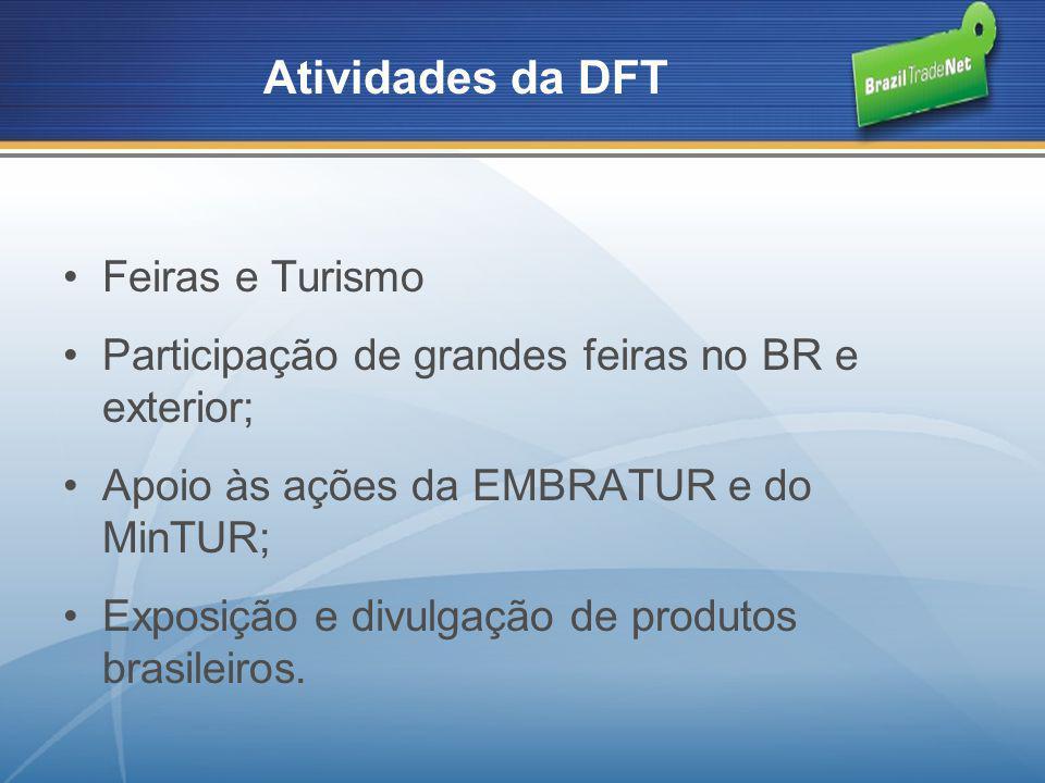 Atividades da DFT Feiras e Turismo