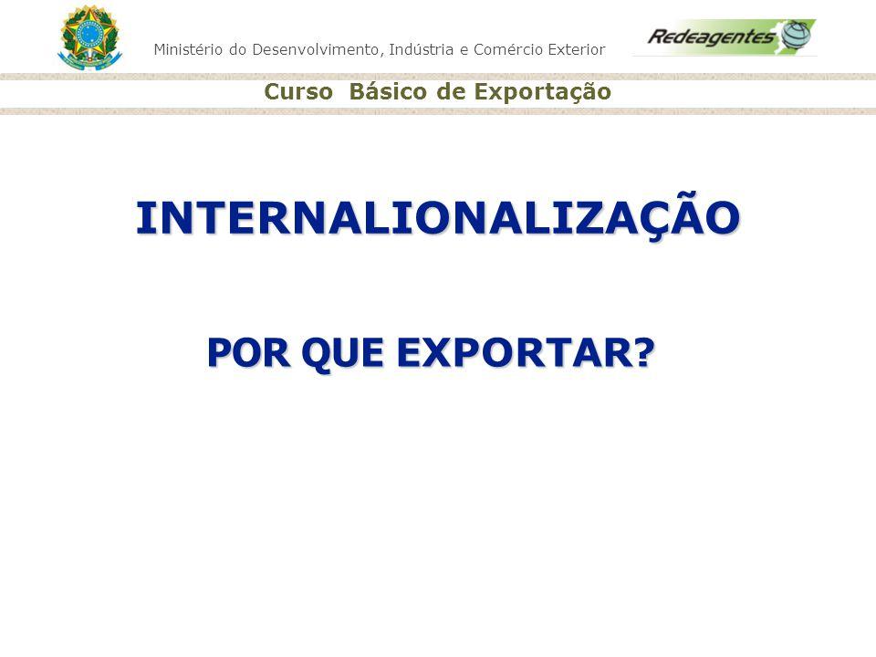 INTERNALIONALIZAÇÃO POR QUE EXPORTAR