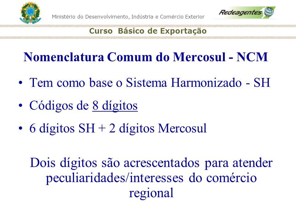 Nomenclatura Comum do Mercosul - NCM