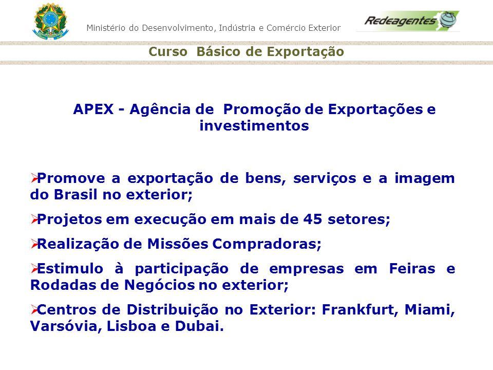 APEX - Agência de Promoção de Exportações e investimentos