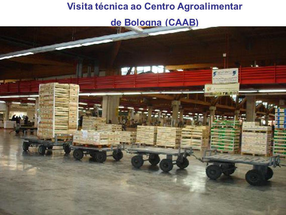 Visita técnica ao Centro Agroalimentar