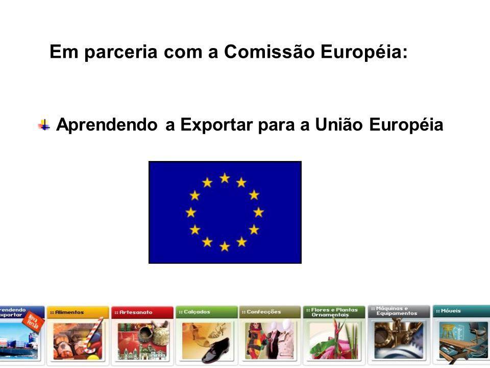 Em parceria com a Comissão Européia: