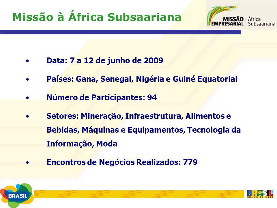 Missão à África Subsaariana