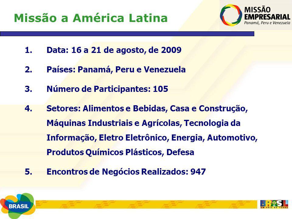 Missão a América Latina