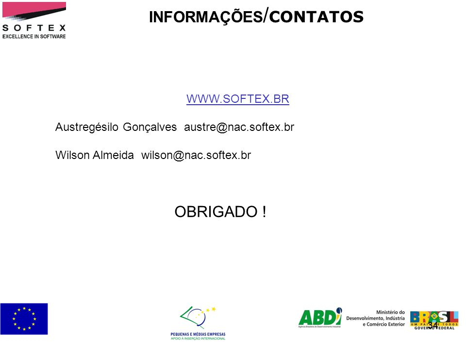 INFORMAÇÕES/CONTATOS