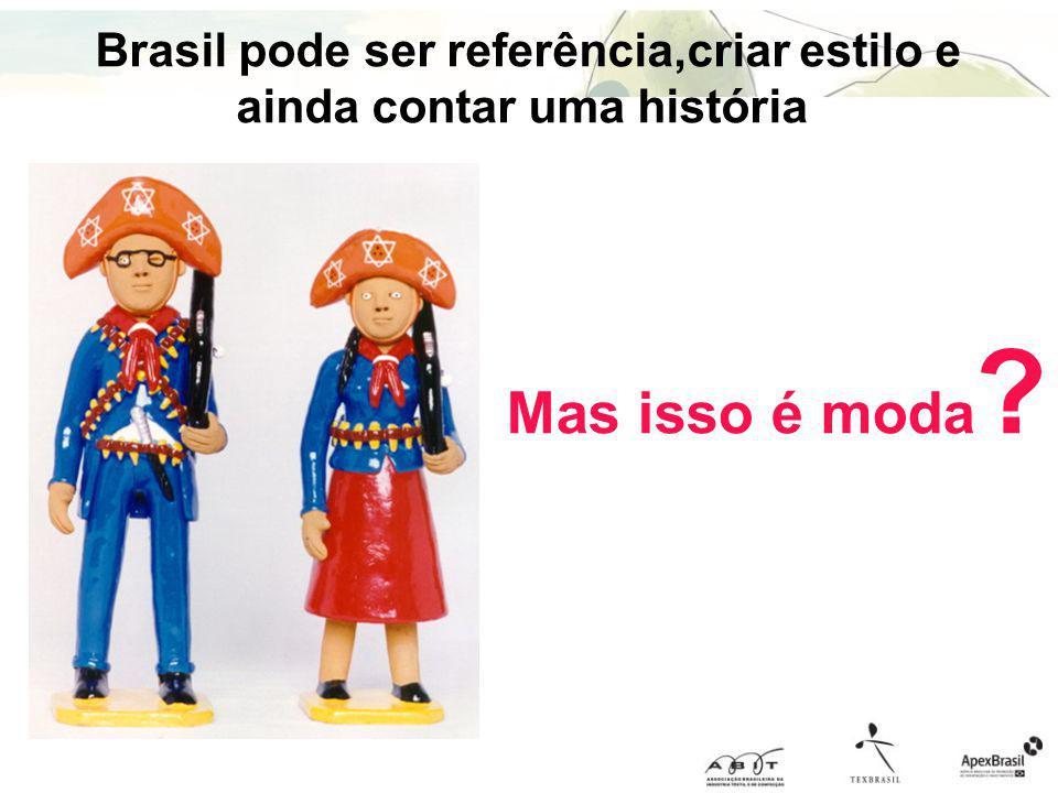 Brasil pode ser referência,criar estilo e ainda contar uma história
