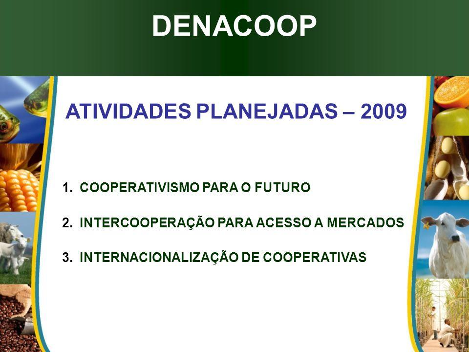 ATIVIDADES PLANEJADAS – 2009