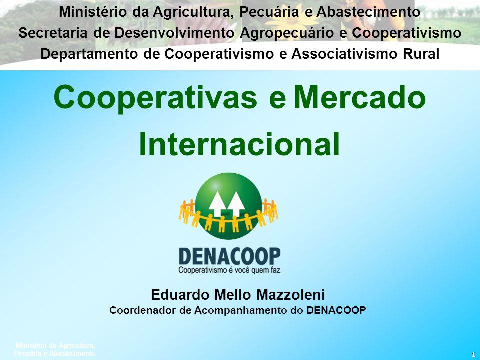 Cooperativas e Mercado Internacional