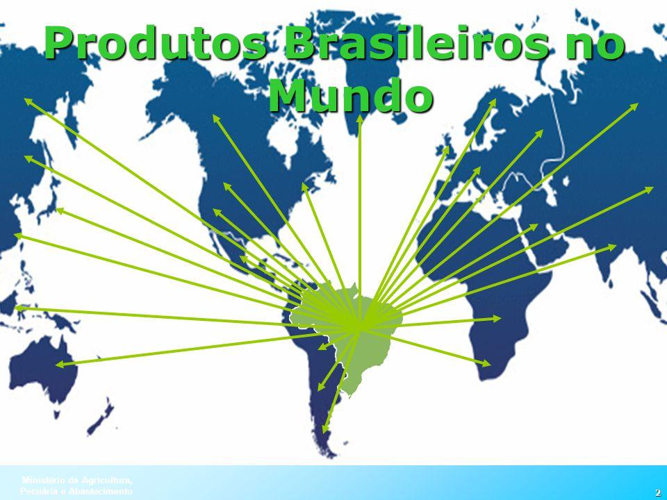 Produtos Brasileiros no Mundo