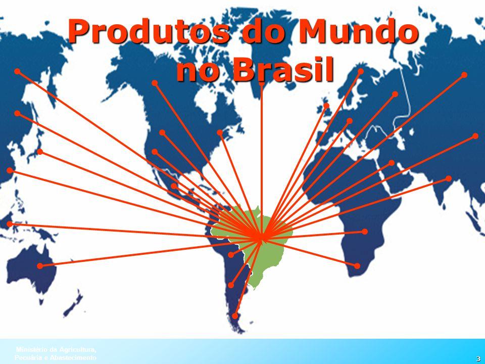 Produtos do Mundo no Brasil