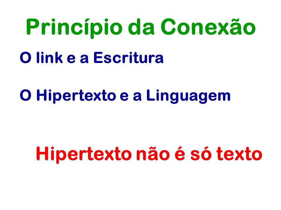 Hipertexto não é só texto