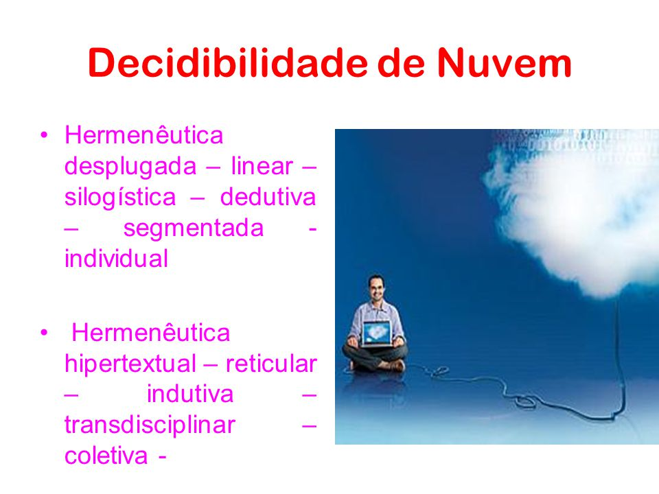 Decidibilidade de Nuvem