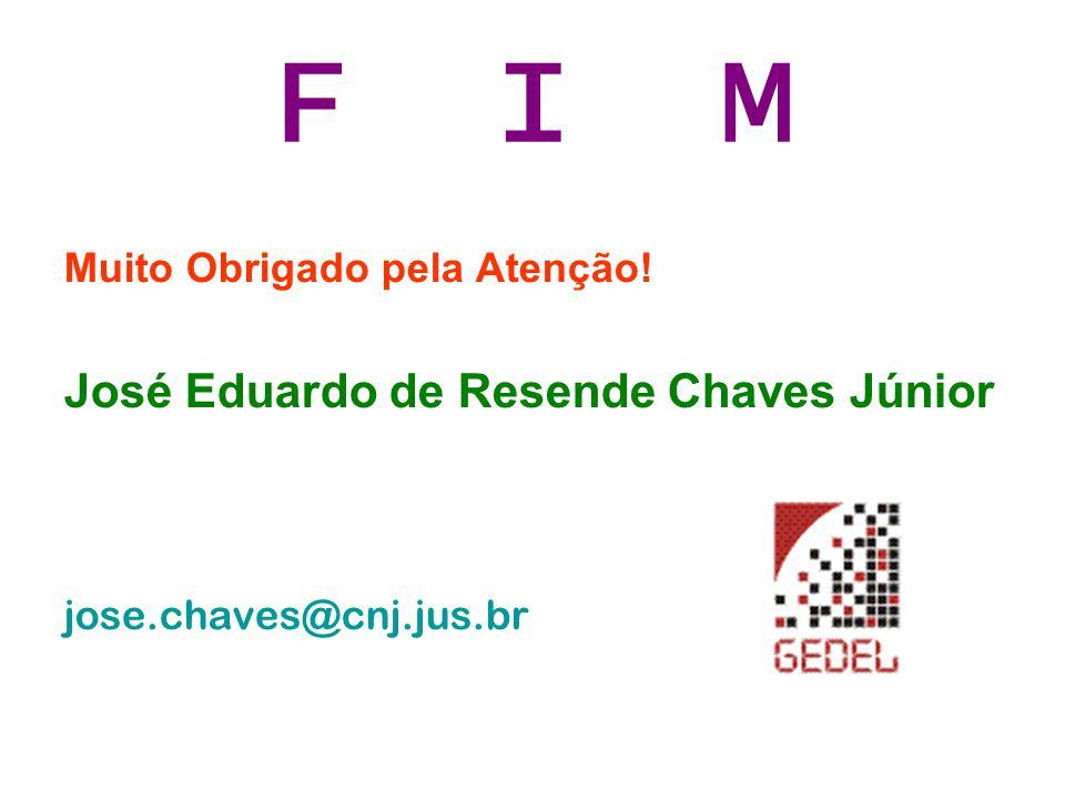F I M José Eduardo de Resende Chaves Júnior