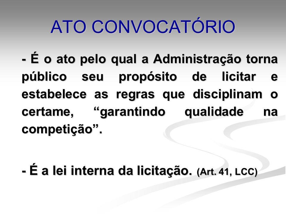 ATO CONVOCATÓRIO
