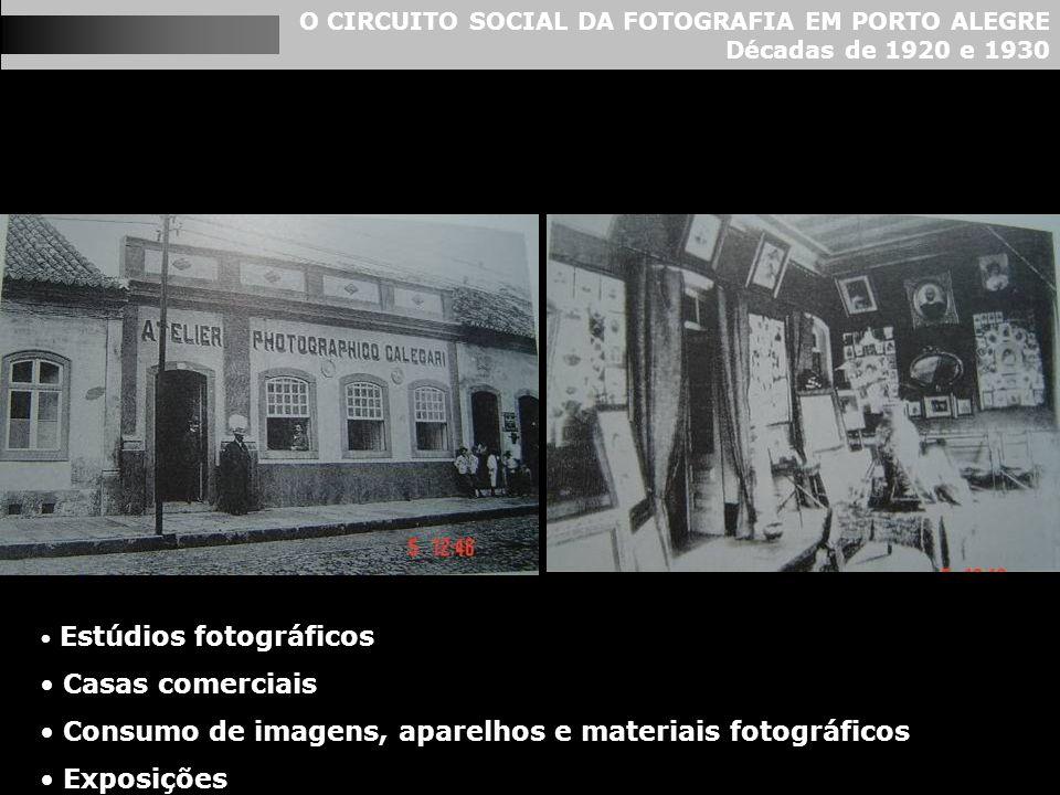 Consumo de imagens, aparelhos e materiais fotográficos Exposições