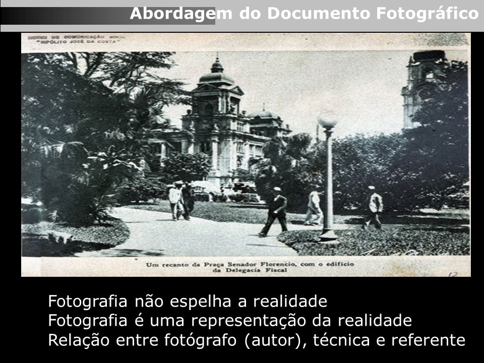 Abordagem do Documento Fotográfico