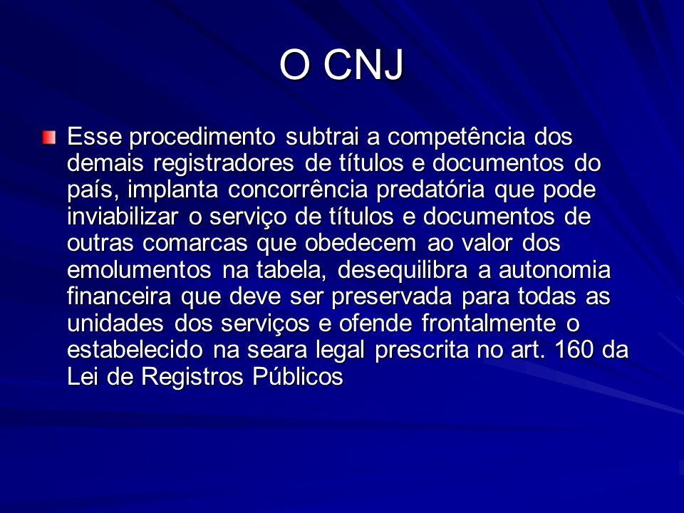 O CNJ