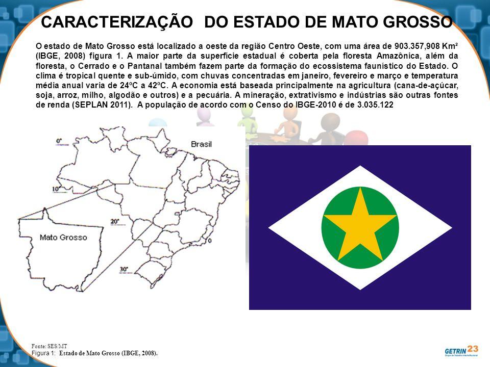 CARACTERIZAÇÃO DO ESTADO DE MATO GROSSO