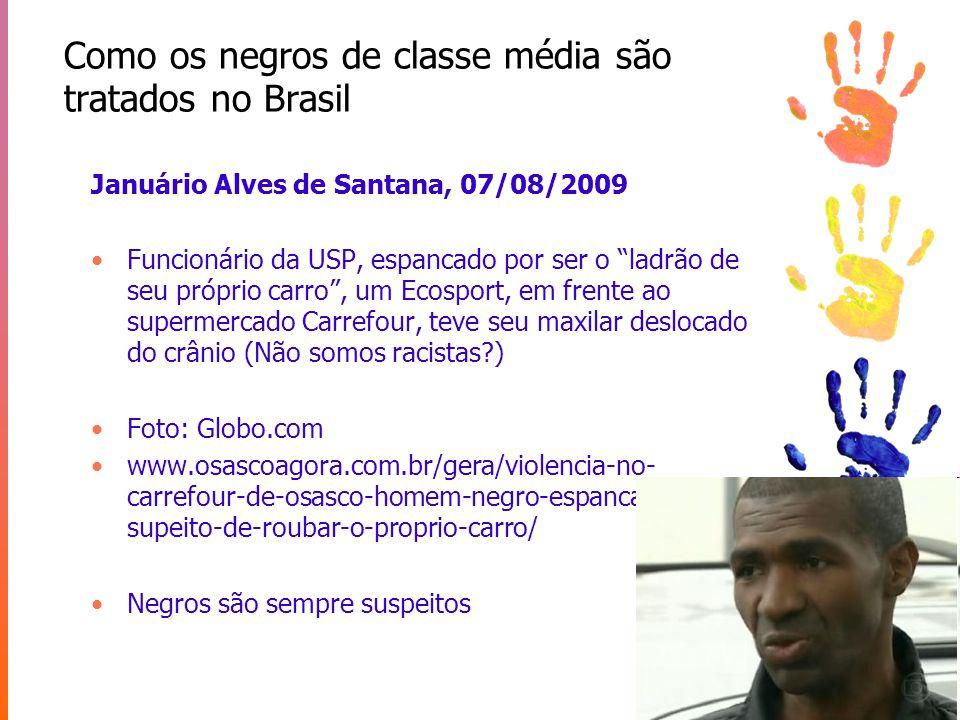Como os negros de classe média são tratados no Brasil