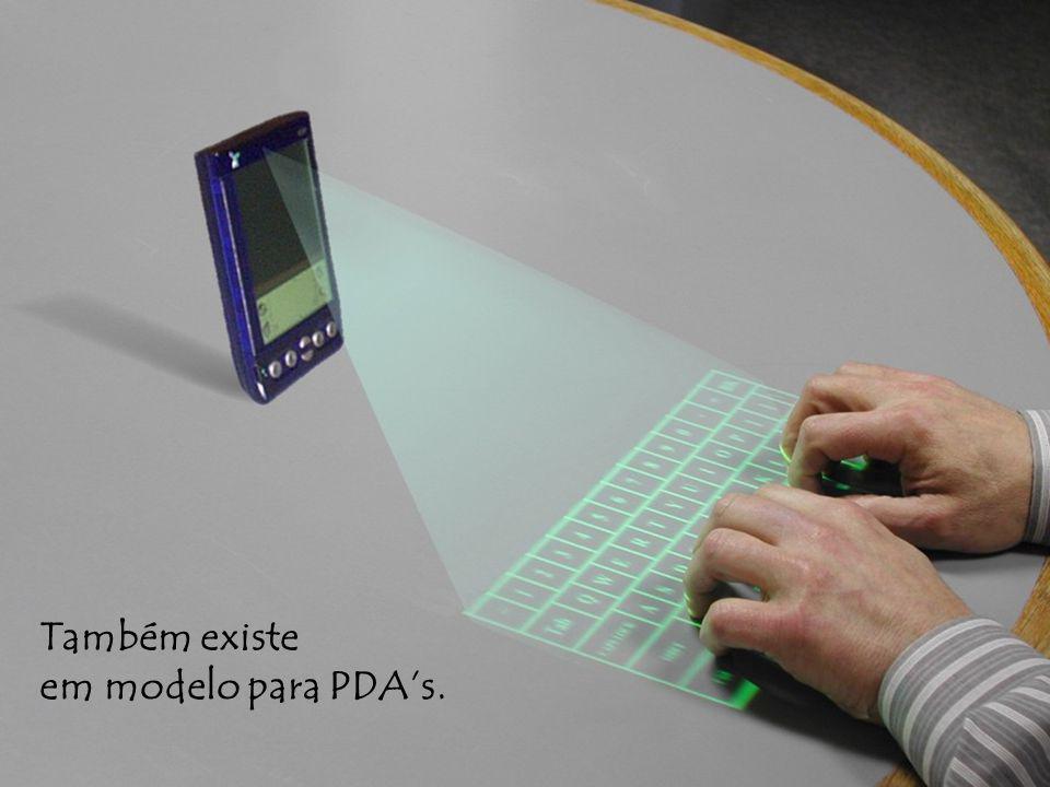 Também existe em modelo para PDA's.