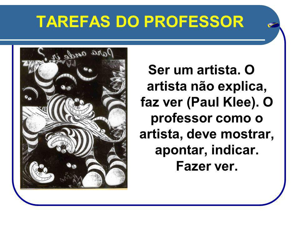 TAREFAS DO PROFESSOR